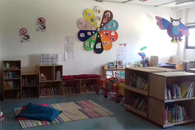 Biblioteca Colegio Coop. Son Verí Nou